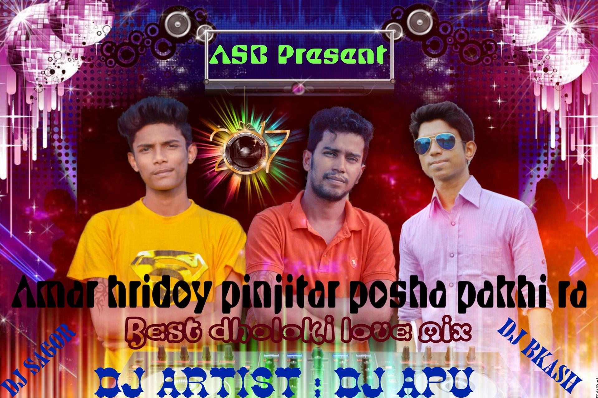 Amar Hridoy PinJirar Pusha Pakhi Re (Best DholkiLove Mix) Dj Apu & Dj Bikash-Sagor [ApuWap.Net].mp3